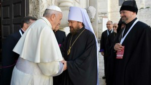 Il metropolita Hilarion ha partecipato all'incontro di Primati e rappresentanti delle Chiese, dedicato alla condizione dei cristiani in Medio Oriente