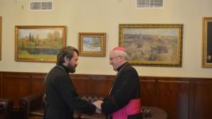 Il metropolita Hilarion ha incontrato il Nunzio Apostolico nella Federazione Russa