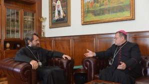 Il Presidente del Decr ha incontrato l'ordinario dell'arcidiocesi cattolica a Mosca