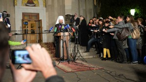 Митрополит Волоколамский Иларион: Сегодня состоялось решение, которого требовали церковные каноны