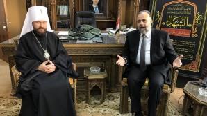 Συνάντηση του Προέδρου του ΤΕΕΣ με τον Υπουργό Βακουφίων της Συρίας
