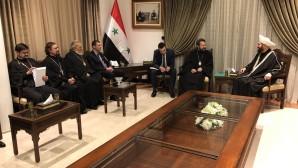 Συνάντηση του Προέδρου του ΤΕΕΣ με τον Αρχιμουφτή της Συρίας