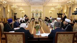 Le patriarche Cyrille a présidé la séance jubilaire du présidium du Conseil interreligieux de Russie
