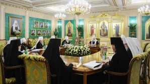 His Holiness Patriarch Kirill chairs the first in 2019 session of the Holy Synod