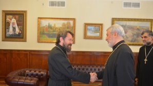 Metropolitan Hilarion meets with a hierarch of the Assyrian Church of the East