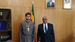 DECR representative meets with Ambassador of Ethiopia to Russia