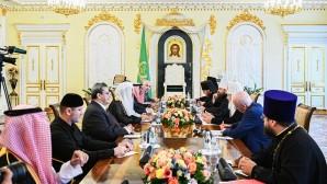 Le patriarche Cyrille a rencontré le secrétaire général de la ligue islamique