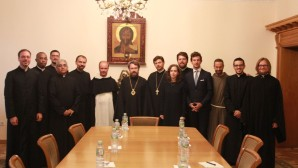 Metropolitan Hilarion of Volokolamsk meets with participants in the 5th Summer Institute for representatives of the Roman Catholic Church