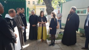 A delegation of the Roman Catholic Church visits the Synodal Department for Charity