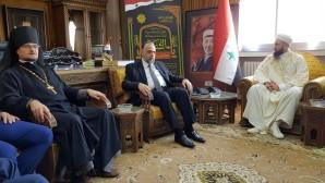 Διαθρησκειακή αντιπροσωπεία από τη Ρωσία στη Δαμασκό