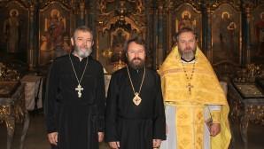 Metropolitan Hilarion visits Dormition Cathedral in Budapest