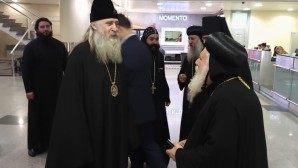 Delegation of abbots and abbesses of the Coptic Church arrives in Russia