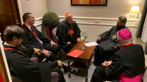 Metropolitan Hilarion meets with president of Italian Episcopal Conference