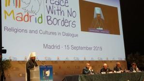 Metropolitan Hilarion speaks at opening of Interreligious Forum in Madrid
