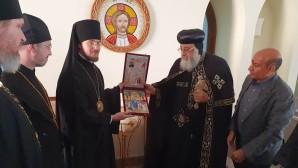 Αντιπροσωπεία της Ορθοδόξου Εκκλησίας της Ρωσίας πραγματοποίησε προσκύνημα στα κοινά χριστιανικά ιερά σεβάσματα της Αιγύπτου
