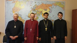Bishop of Church of England visits Department for External Church Relations