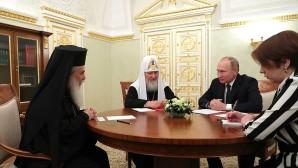 Συνάντηση του Προέδρου της Ρωσίας με τους Προκαθημένους των Ορθοδόξων Εκκλησιών Ιεροσολύμων και Ρωσίας