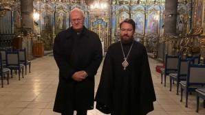 Metropolitan Hilarion of Volokolamsk meets with Cardinal Péter Erdő