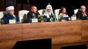 Ο Αγιώτατος Πατριάρχης Κύριλλος παρέστη στην έναρξη της Β' Συνόδου Κορυφής Παγκοσμίων Θρησκευτικών Ηγετών του Μπακού