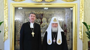 His Holiness Patriarch Kirill meets with Archbishop of Estonian Evangelical Lutheran Church