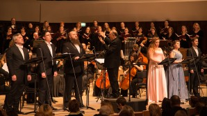 """Oratorio """"Andrej Rublev"""" by Monsignor Marco Frisina performed for the first time in Moscow"""