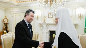 Le patriarche Cyrille a reçu l'ambassadeur d'Allemagne en Russie