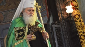 His Holiness Patriarch Kirill greets Primate of Bulgarian Orthodox Church with his Name Day