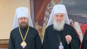 Metropolitan Hilarion meets with Patriarch Irenaeus and hierarchs of Serbian Orthodox Church