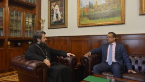 DECR chairman meets with Ambassador of the Republic of Singapore to the Russian Federation