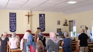 Cleric of Russian Orthodox Church celebrates Liturgy in Namibian capital city