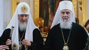 His Holiness Patriarch Kirill and His Holiness Patriarch Irinej of Serbia hold telephone conversation