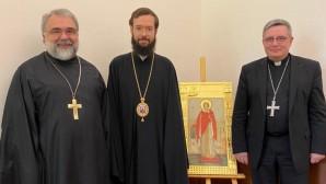 Патриарший экзарх Западной Европы встретился с католическим архиепископом Монако