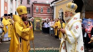 Θεία Λειτουργία από τον Μητροπολίτη Ιλαρίωνα στον πανηγυρίζοντα Ι. Ναό Αρχαγγέλου Γαβριήλ του Μετοχίου της Εκκλησίας της Αντιοχείας στη Μόσχα