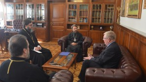 DECR chairman meets with newly appointed Ambassador of Russia to Slovakia