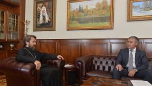 Le métropolite Hilarion a rencontré le ministre russe des Sciences et de l'enseignement supérieur