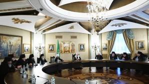 Святейший Патриарх Кирилл встретился с архиереями Белорусского экзархата