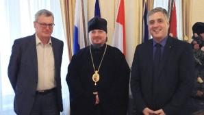 L'évêque Alexis de Caffa, administrateur temporaire du diocèse de Vienne et d'Autriche, a rencontré l'ambassadeur d'Autriche en Russie