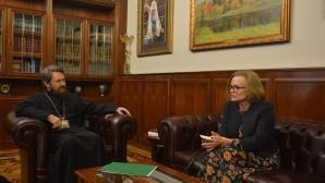 Rencontre du président du DREE avec l'ambassadeur de Grande-Bretagne en Russie
