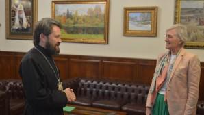 Rencontre du président du DREE avec le chef de la mission diplomatique grecque à Moscou
