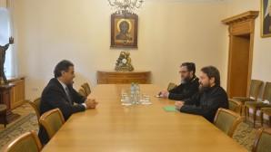 Le président du Département des relations ecclésiastiques extérieures a rencontré l'ambassadeur du Liban