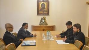 Rencontre du président du DREE avec l'ambassadeur d'Éthiopie en Russie