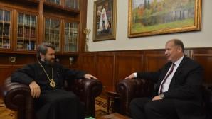 Митрополит Волоколамский Иларион встретился с послом Словакии в Российской Федерации