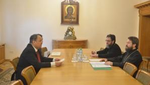 Le président du Département des relations ecclésiastiques extérieures a rencontré l'ambassadeur du Royaume de Barheïn