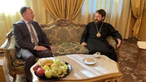 Rencontre du président du DREE avec l'ambassadeur Russie en Syrie