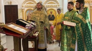 Parish of St. Sergius church on Chang Island in Thailand marks its patron saint's day