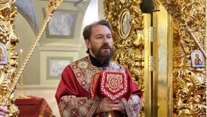 Митрополит Иларион совершил Литургию в престольный праздник московского храма святых мучеников Михаила и Феодора на Черниговском подворье