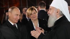 Vladimir Putin sends his condolences on the demise of His Holiness Patriarch Irinej of Serbia