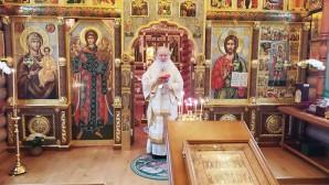 В день своего рождения Святейший Патриарх Кирилл совершил Литургию в Александро-Невском скиту