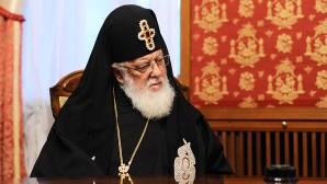 Поздравление Святейшего Патриарха Кирилла Католикосу-Патриарху всея Грузии Илии II с годовщиной интронизации