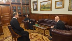 Председатель ОВЦС встретился с новоназначенным послом России в Литве